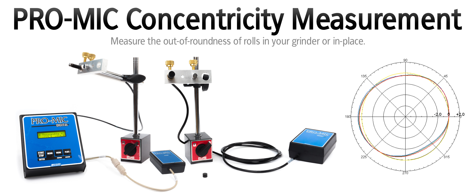 PRO-MIC Concentricity Measurement System