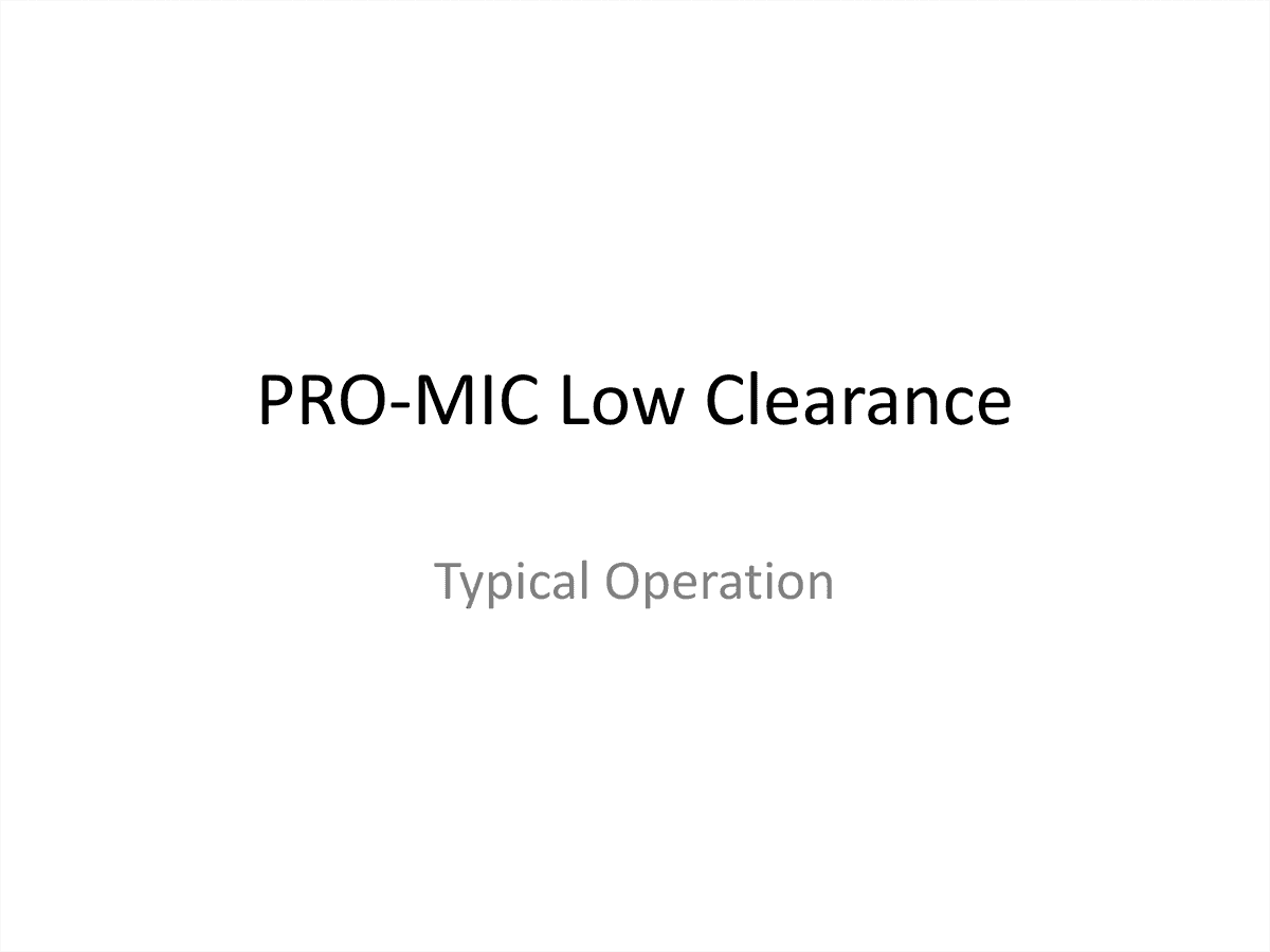 Low Clearance Systems thumbnail